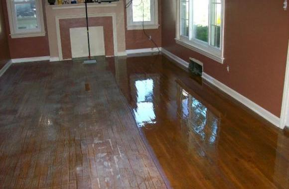 Buffing Chicago Hardwood Flooring Company